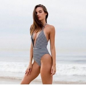 Siempre Golden Swim - NEW • Siempre Golden • Trestles One Piece Swimsuit